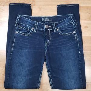 Silver Suki Midrise Skinny Jeans